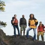 For safety, outdoor activities: Go in groups with at least two guides