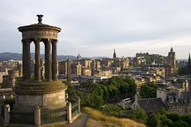 The six monuments of Calton Hill