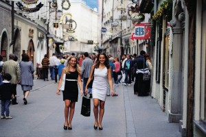 Shopping and sightseeing in Salzburg