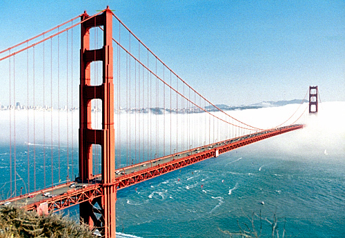 San Francisco is the Golden Gate